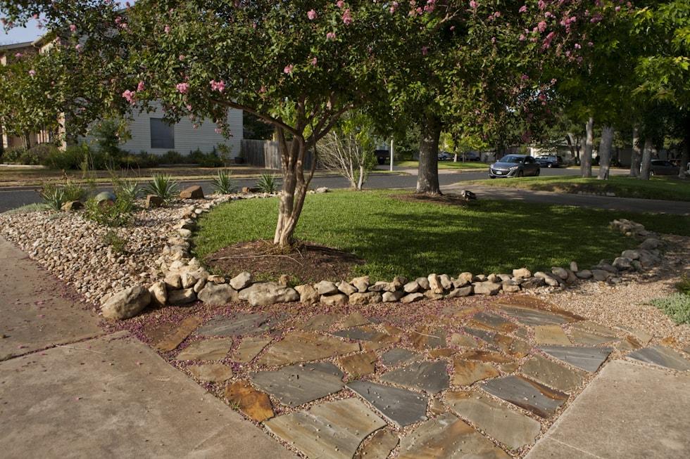 Frontyard Garden Install