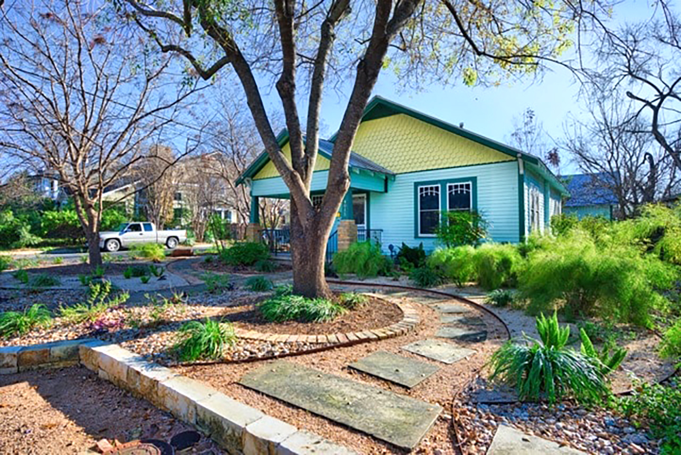 Austin Front Yard Xeriscape